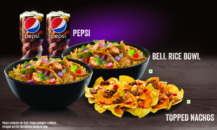Taco bell aecs layout special offers on food beverages