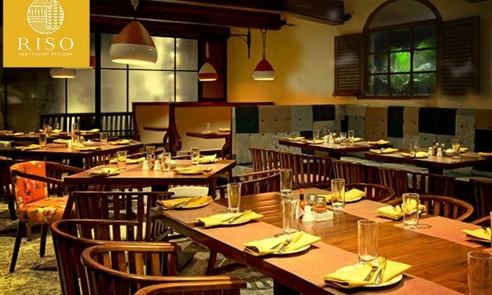 Veg Italian/Maxican Kitchen restaurant RISO, Lower Parel, Mumbai