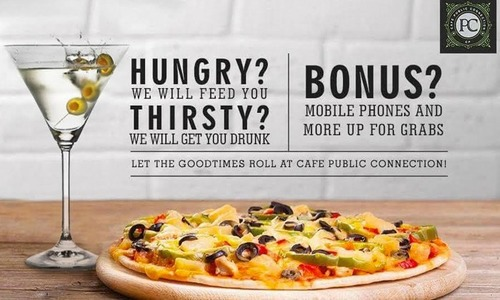 Irresistible Offer: Food with Mobile Handsets