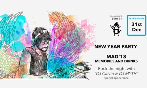 Draupada Lawns - Mad'18 New Year 2018 Party Pune Deals below Rs.1000 for female