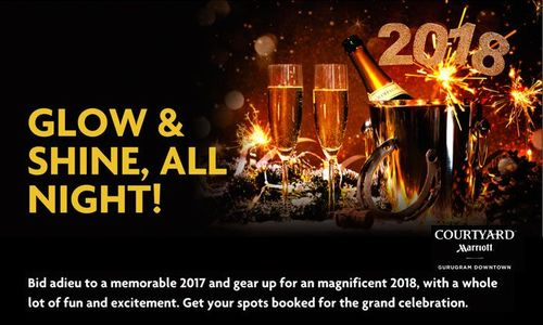Picture Courtyard by Marriott Gurugram New year 2018 deal