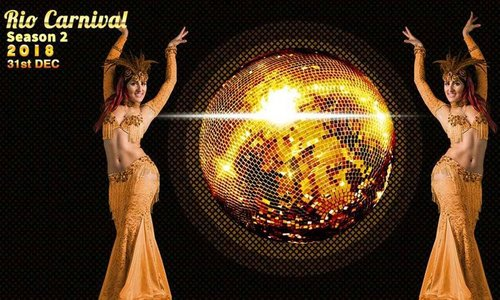 New year Eve 2018 RIO Carnival Season 2 at The Chancery Pavilion Bangalore Party
