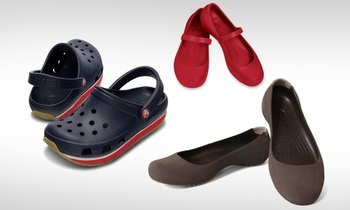 Flat 60% OFF on Crocs and Other Footwear