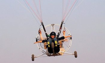Air Adventure on Paramotoring