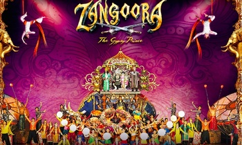 Buy 3, Get 25% Cashback: Entry Tickets to Zangoora - Kingdom of Dreams