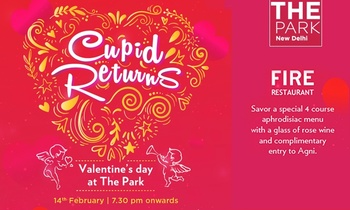 Valentine's Day Special: Cover Charge worth Rs.4500